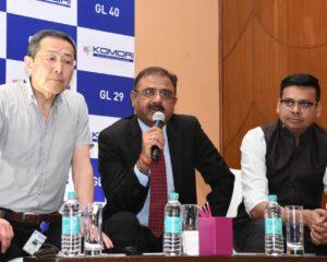 Komori announces direct entry in India