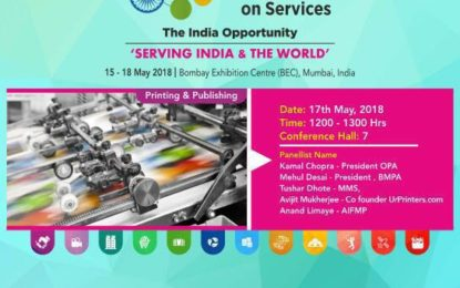Printing Publishing event during 4th Global Exhibition on Services