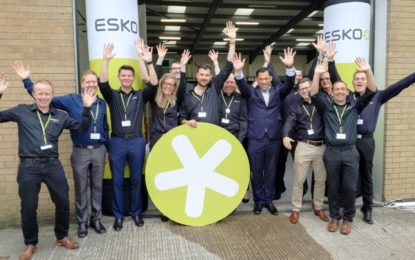 Signage customers see the power of Esko automation solutions at Open House