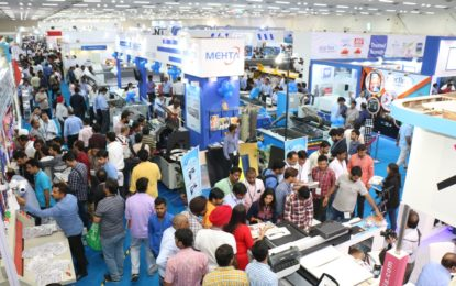 Media Expo New Delhi 2018 95% sold out