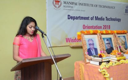 Manipal hosts Orientation for students and parents