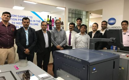 1st Indian installation of Konica Minolta AccurioLabel 190