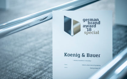 German Brand Award for Koenig & Bauer