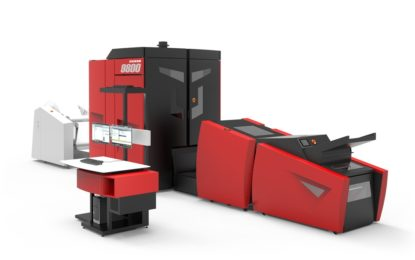Xeikon showcases production possibilities of the Xeikon 9800