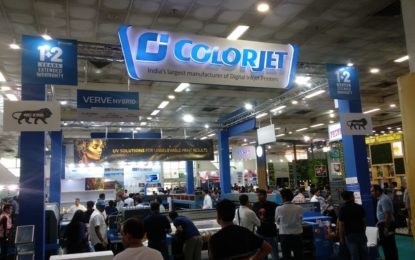 ColorJet records highest sales of UV Digital Printers at Media Expo