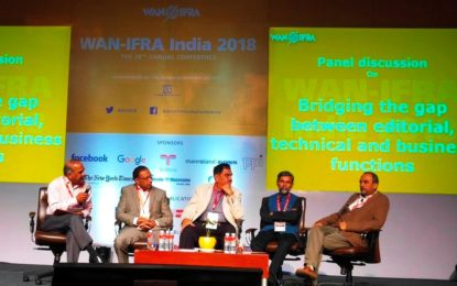 WAN-IFRA hosts 26th Annual Conference in Hyderabad