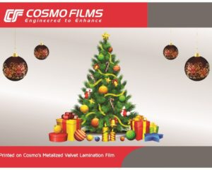 Cosmo Films launches metalized velvet lamination film
