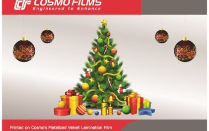 Cosmo Films launches metalized velvet lamination film