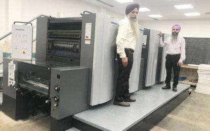 Printwell installs Amritsar's first Heidelberg Speedmaster SX74