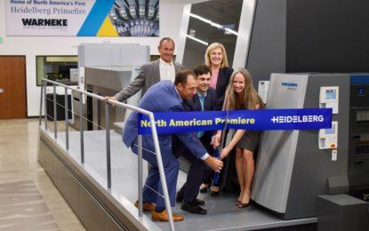 First Heidelberg Primefire 106 serial machine