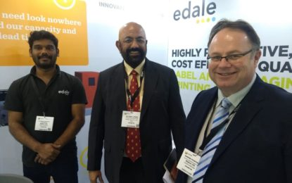 Edale presents Label Presses FL3 and FL5 at labelExpo India