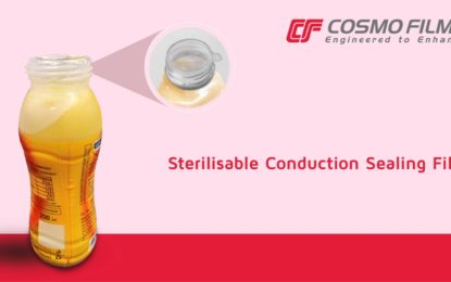 Cosmo Films launches sterilisable conduction sealing film
