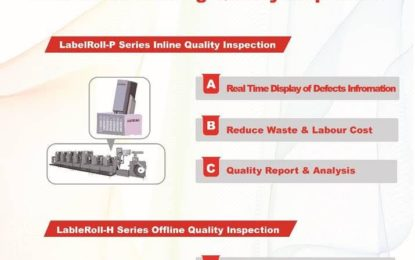 Luster Inspection system displays at LabelExpo India