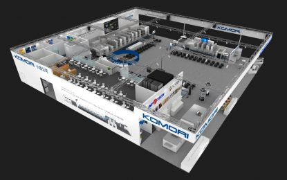Komori presents 'Innovate To Create' concept at Print China 2019