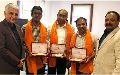 SLAP leaders felicitated