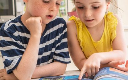 Children like to read magazines