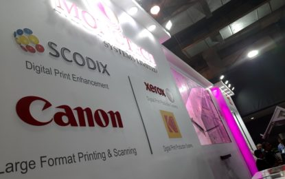 Scodix Ultra Pro with Foil: The star attraction at Monotech's stand