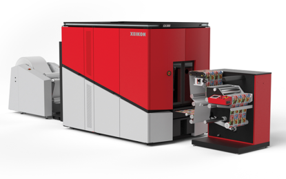 Xeikon unveils CX300, a Cheetah 2.0 based press