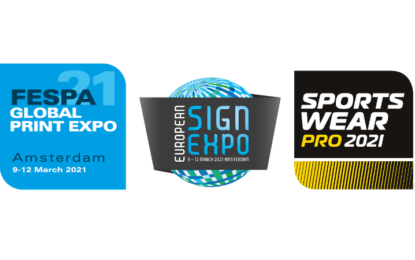 Next FESPA Global Print Expo moves to Amsterdam in March 2021