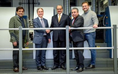 Parksons Packaging boasts over 100 Rapida printing units