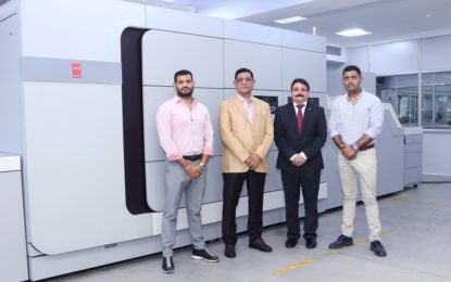 Canon India installs country's first VarioPrint i300 at Replika