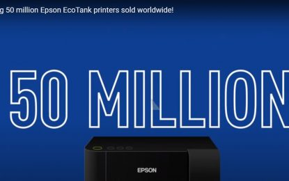 Epson achieves landmark 50 million EcoTank printer sale mark