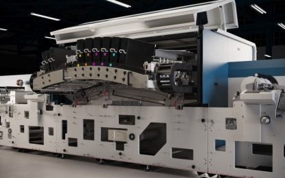 Domino unveils the N730i digital label press
