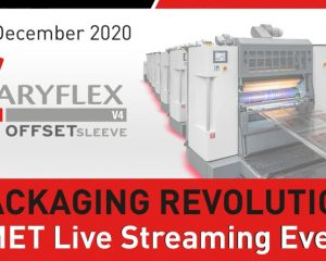 "OMET brings live streaming open house ""Packaging Revolution"""